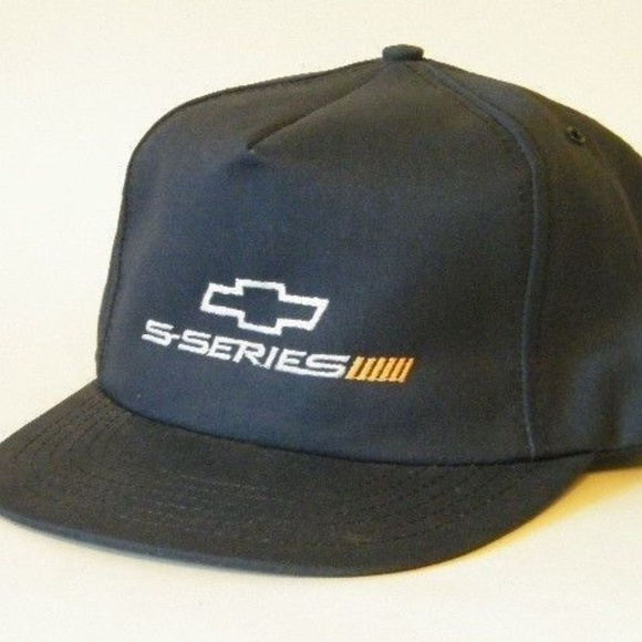beb2d0489f4 Chevrolet Snap Back Trucker Hat Cap Bowtie S-Serie
